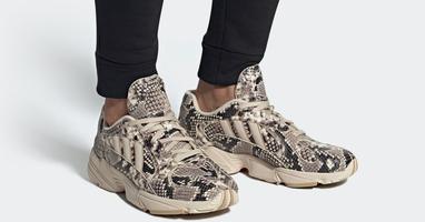 Adidas geeft de Yung-1 een luxe snakeskin make-over!