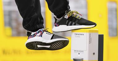 Adidas lanceert unieke sneaker met ingebouwd jaarabonnement voor de Berlijnse metro!