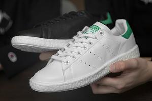 Adidas Stan Smith Boost: good old Stan Smith in de mix met futuristische Boost zool