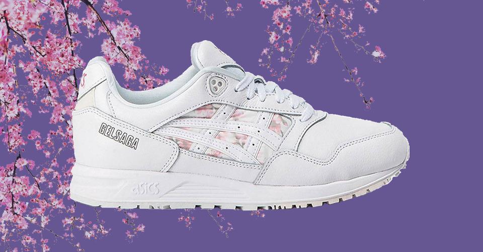 asics gel saga cherry blossom