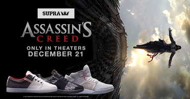 Assassin's Creed x SUPRA sneakers
