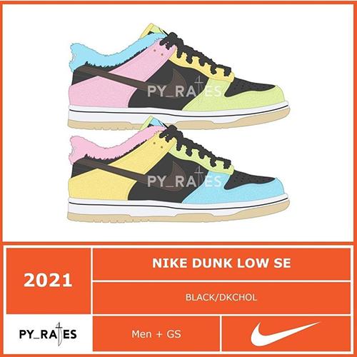 Nike Dunk Low Free 99 Pack
