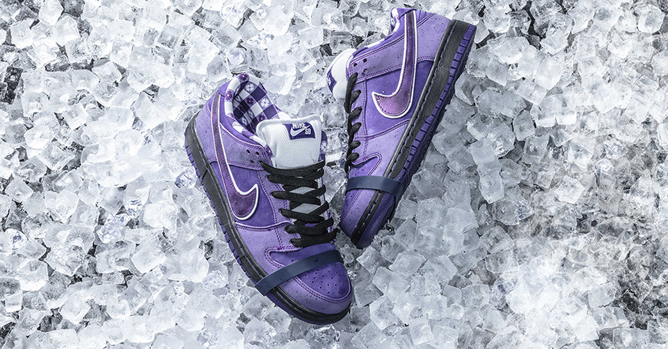 concepts x nike sb dunk lobster purple