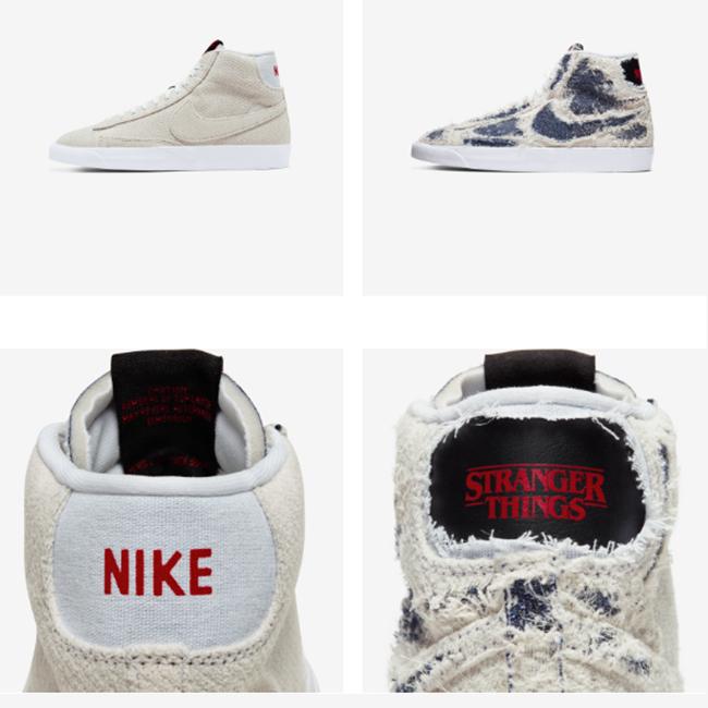 Nike x stranger things blazer