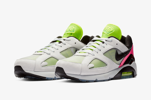 Draag de Berlijnse technocultuur altijd bij je met de Nike Air Max 180 'BLN'