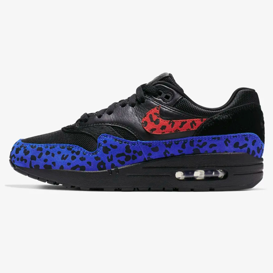 nike air max 1 wmns black leopard