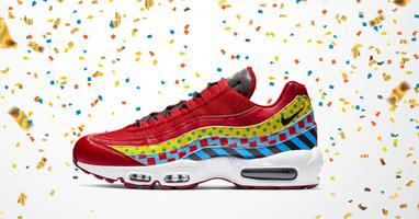 Herbeleef carnaval met de nieuwe Nike Air Max 95 Carnaval!