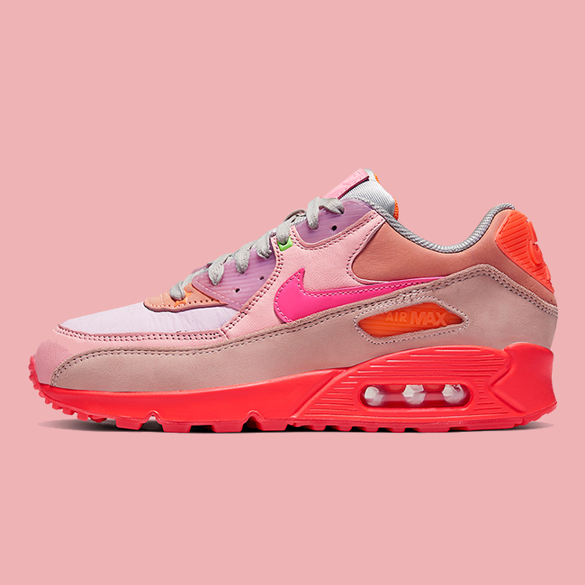 roze air max 90 dames