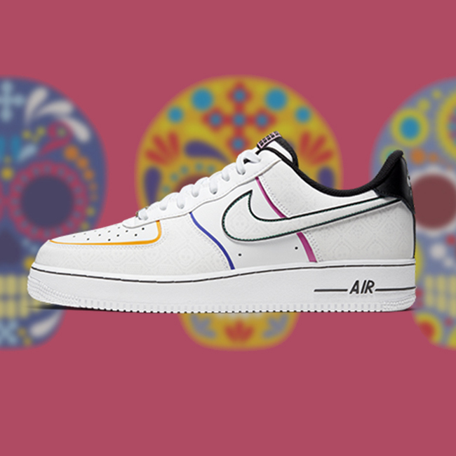 nike air force 1 day of the dead