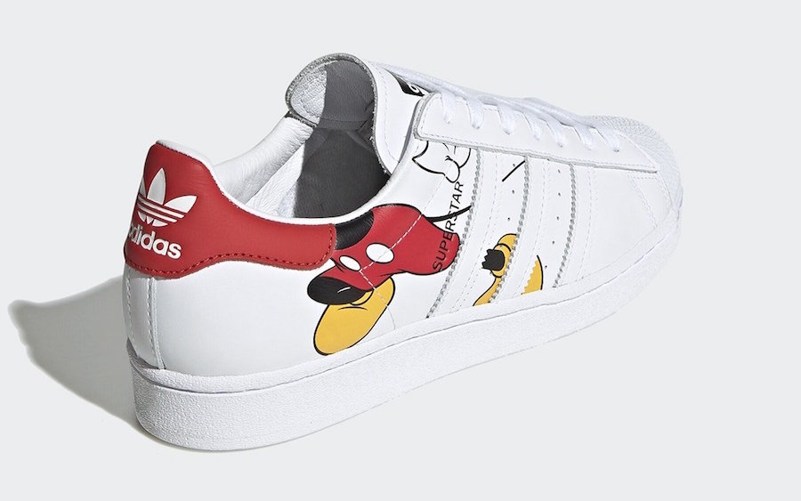 Mickey Mouse x adidas Originals Superstar Stan Smith