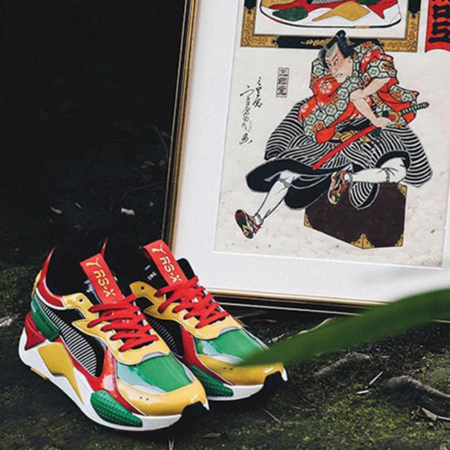 Nieuwe Puma x Atmos RS-X sneaker brengt ode aan kleurrijke ...