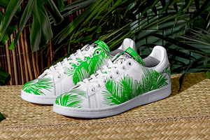 Pharrell x BBC x Adidas Stan Smith 'Palm Tree' Pack