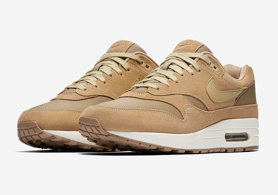 nike air max 1 premium tan brown