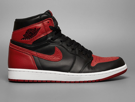Nike herintroduceert de beruchte Air Jordan 1 'Banned' colorway