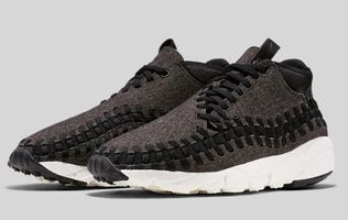 Nike released de Air Footscape Woven Chukka in stijlvol wol en denim