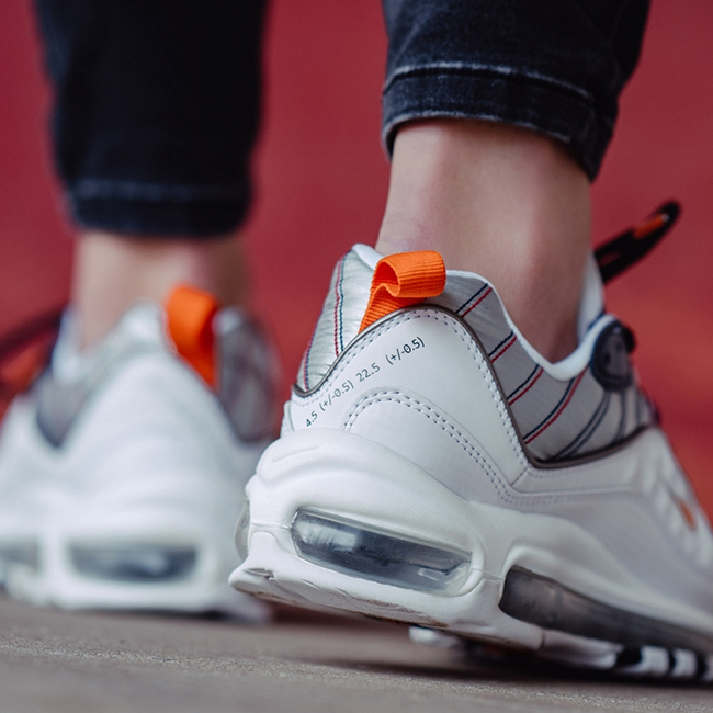 Nike WMNS Air Max 98 WhiteMetallic – release info