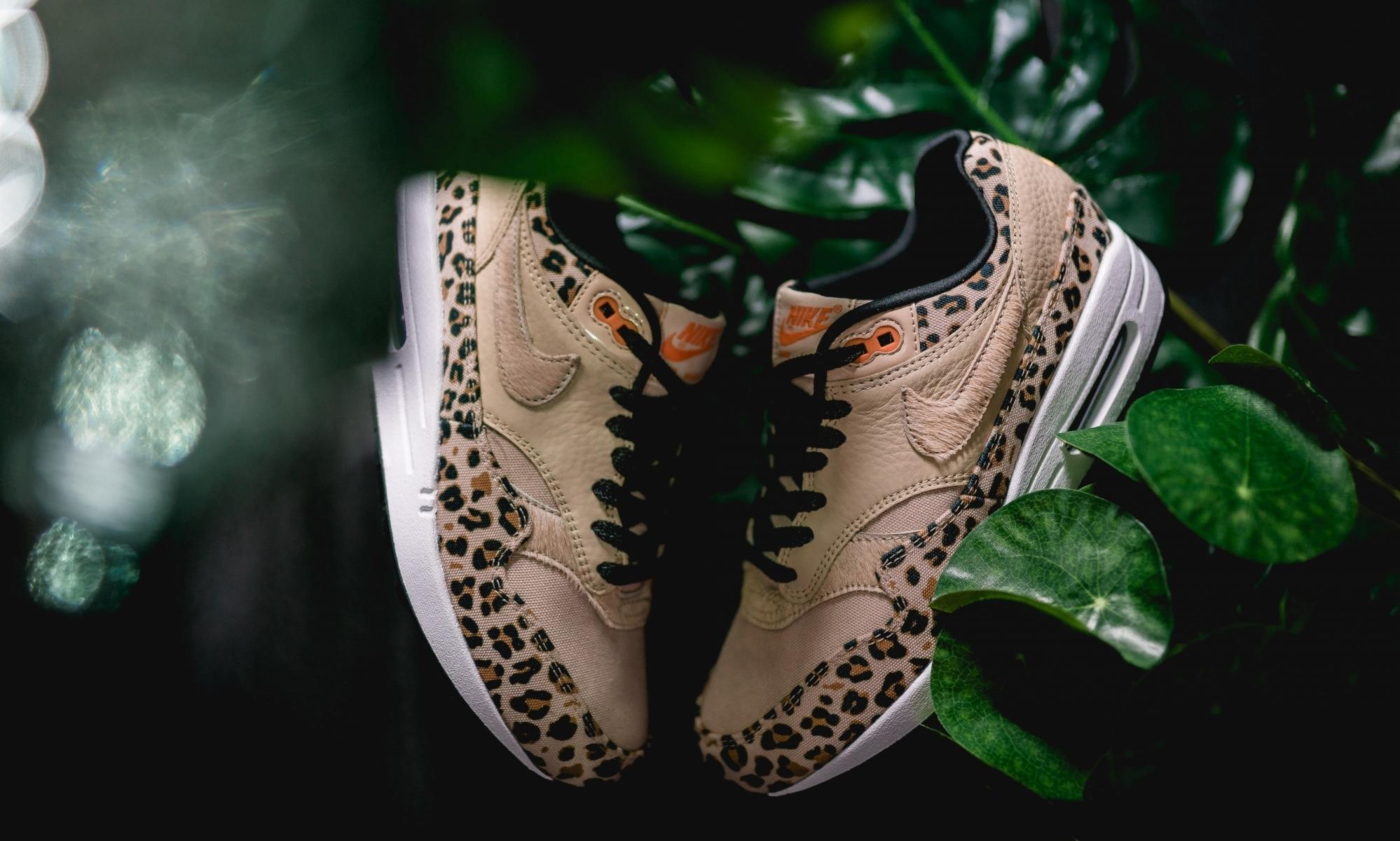 nike air max 1 wmns leopard