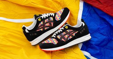 size? en Asics brengen eerbetoon aan Japans ballonnen festival met kleurrijk sneaker