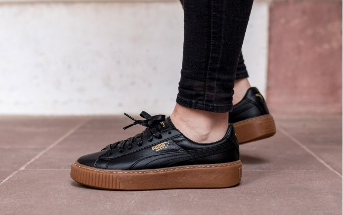puma basket blackka