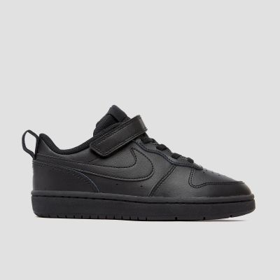 Nike Court Borough kindersneaker zwart