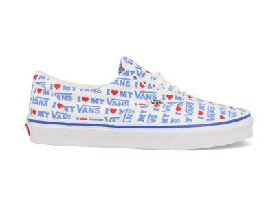 Vans Era herensneaker blauw, rood en wit
