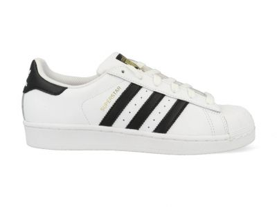 Adidas Superstar herensneaker zwart en wit