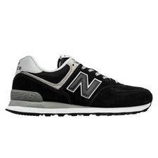 New Balance 574 herensneaker zwart, grijs en wit