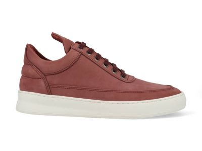 Filling Pieces Low Top herensneaker rood