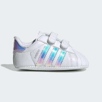 Adidas Superstar babysneaker zwart en wit