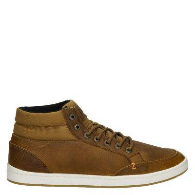 HUB herensneaker bruin