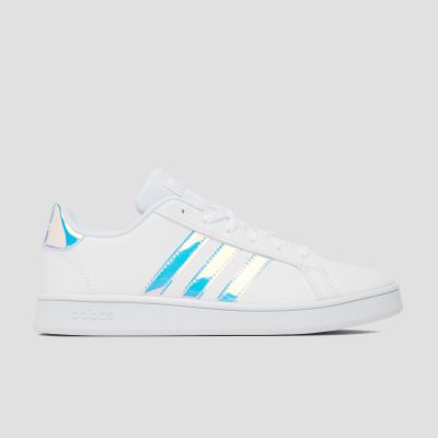 Adidas Grand Court kindersneaker wit