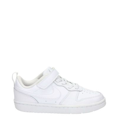 Nike Court Borough kindersneaker wit