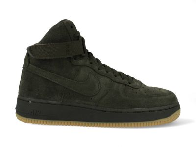 Nike Air Force 1 damessneaker groen