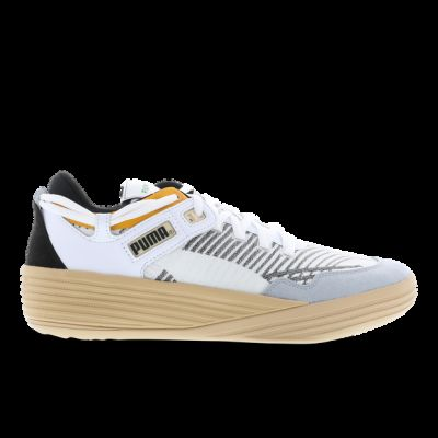 Puma Clyde herensneaker wit