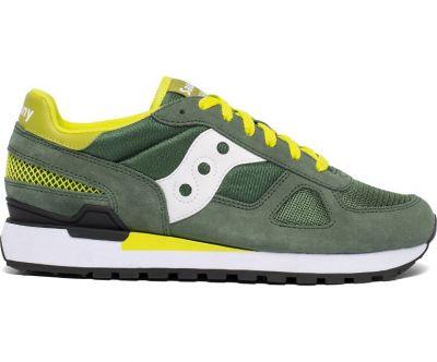 Saucony Shadow Original herensneaker groen