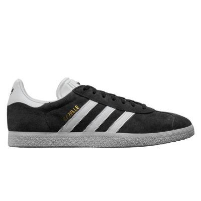 Adidas Gazelle herensneaker grijs, goud en wit