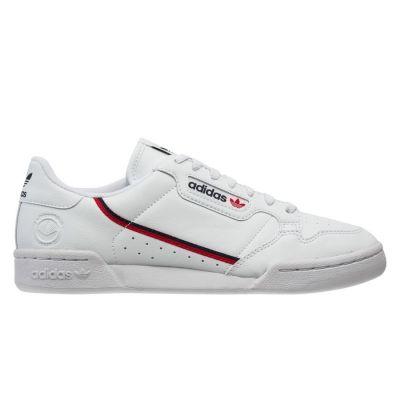 Adidas Continental 80 herensneaker blauw, rood en wit