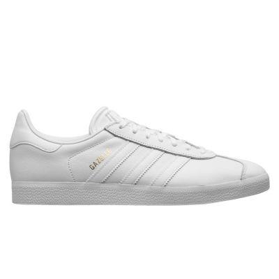 Adidas Gazelle herensneaker goud en wit