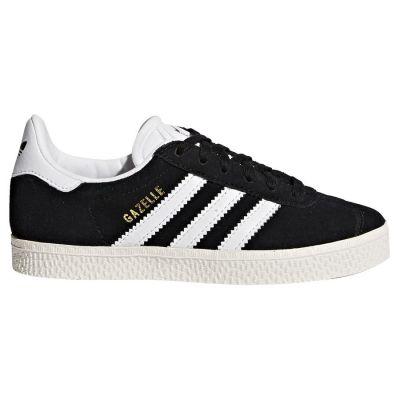 Adidas Gazelle kindersneaker zwart, goud en wit