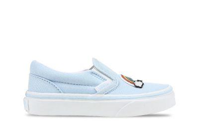 Vans Classic Slip-On kindersneaker blauw