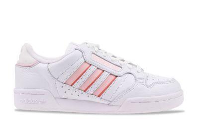 Adidas Continental 80 damessneaker roze en wit