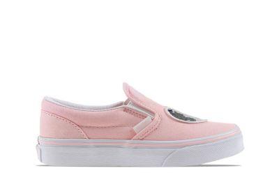 Vans Classic Slip-On kindersneaker roze