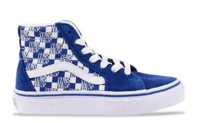 Vans Sk8 kindersneaker blauw en wit