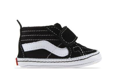 Vans Sk8 babysneaker zwart en wit