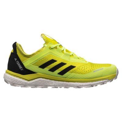 Adidas Terrex herensneaker zwart, rood en geel