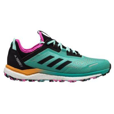 Adidas Terrex herensneaker zwart, groen, roze en blauw