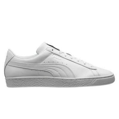 Puma Basket herensneaker wit