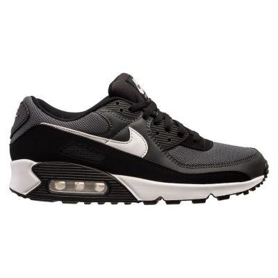Nike Air Max 90 herensneaker zwart, grijs en wit